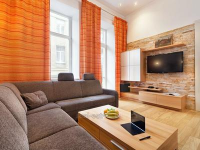 Luxury big apartment with balcony in the center of Lviv